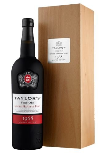 Taylor's Port – Single Harvest Port 1968 Jubiläumsausgabe in HK