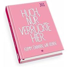Taschenkalender 2018 - FUNI SMART ART - Mein Einhorn - Terminplaner mit Wochenkalendarium - Format 11,3 x 16,3 cm