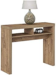 Artely Dunas Console Table, Rustic Brown, W 100 X D 30 x H 80.5 cm