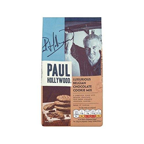 Paul Hollywood Luxus Belgischer Schokolade Plätzchenmischung 225G - Packung mit 2