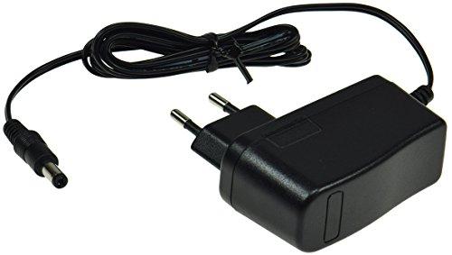Stecker Netzteil Ladegerät Stromversorgung CTN 12V universal einsetzbar für LED Stripe Notebook Reader Lampen Leuchten (12V=/12Watt/1A, schwarz)