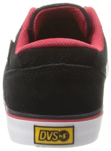 DVS - Jarvis, Scarpe da Skateboard Uomo Nero (Noir (Black Suede Weeman))