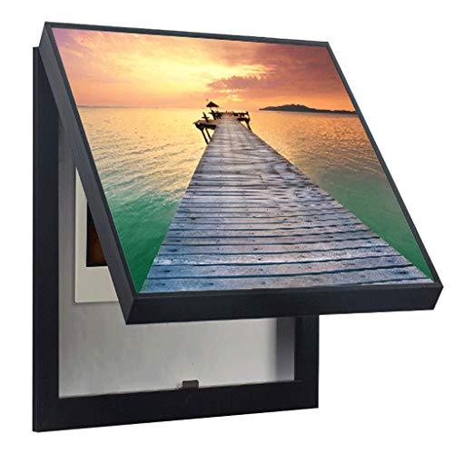 DXIANG Cuadro decorativo de la cubierta de la caja del medidor hasta...