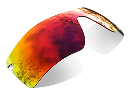 sunglasses restorer Kompatibel Ersatzgläser für Oakley Radar Path (Polarized Ruby Red Linsen)
