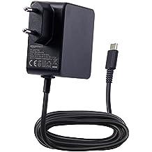 AmazonBasics - Cargador CA de doble voltaje, para Nintendo Switch (compatible con modo TV), negro