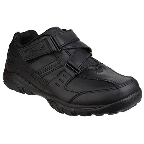 Skechers Grambler-Zeem, Sneakers Basses Garçon Noir (Bbk)
