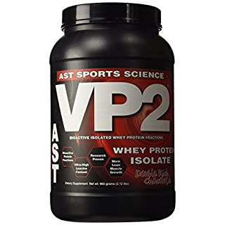 AST Sports Science, VP2, Whey Protein Isolate, Double Rich Chocolate, 2 lbs (908 g)