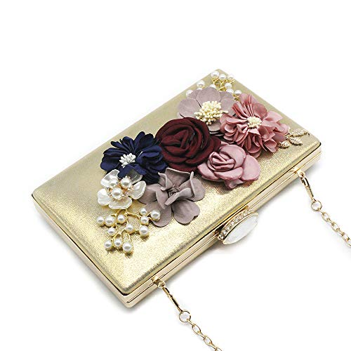 WWricotta Women's Flower Clutches Evening Bags Handbags Wedding Clutch Purse