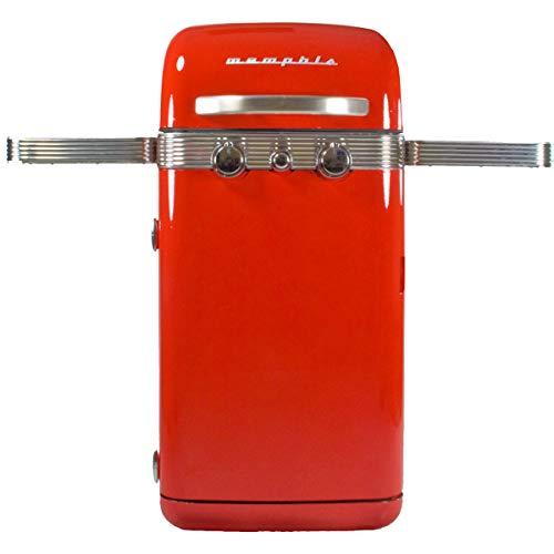 Gasgrill Memphis Sahara 4500 W, 2 Brenner, Gusseisen, Gasanschluss, Vintage-Modell