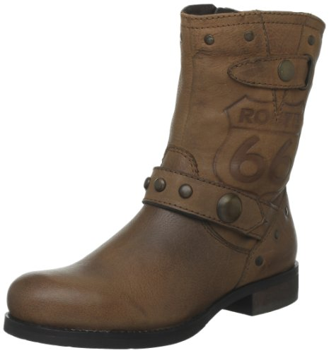 Route 66 Boot Brookfield, Chaussures montantes femme Marron (Camel)
