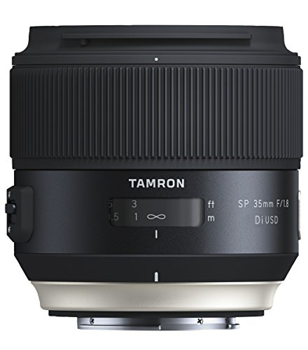 Tamron SP35mm F/1.8 Di USD Sony Objektiv (67mm Filtergewinde, fest) schwarz (35 Mm Tamron)