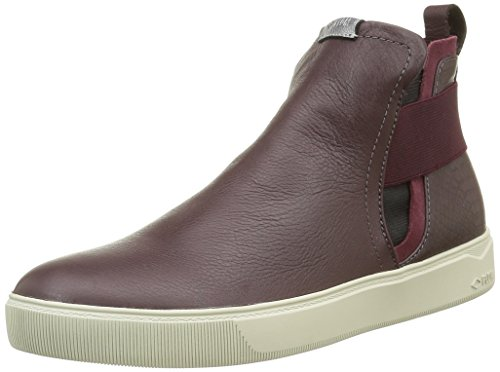 PLDM by Palladium Tinsel, Bottes Chelsea Femme Rouge (024 Bordo)