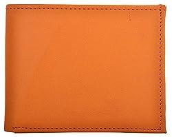 Exotique Mens TAN Faux Leather Wallet (WM0008TN)