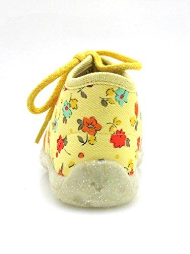 Superfit , Chaussures premiers pas pour bébé (fille) Viola Jaune - Jaune