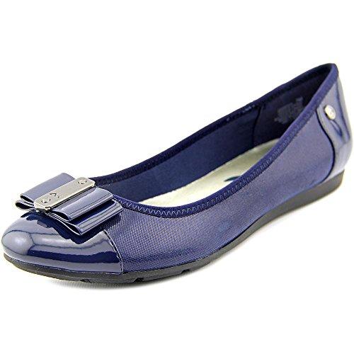 Anne Klein Frauen Flache Schuhe Blau Groesse 8 US/39 EU (Klein-flache Anne Schuhe)
