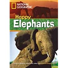 National Geographic Footprint Reading Library: Happy Elephants, inkl. Multi-ROM