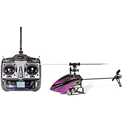 XciteRC 14004100 Flybarless 200 3D Single Blade V2.0 – 6 Canales RTF Helicóptero con 6S Profesional 6 Canales Control Remoto