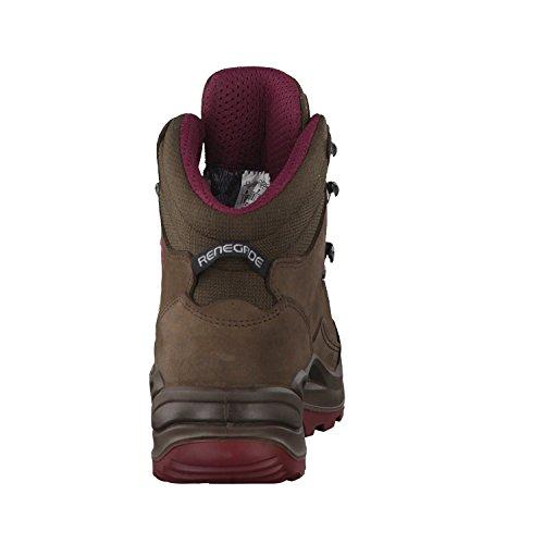 Lowa Renegade Gtx Mid, Stivali da Escursionismo Uomo Marrone