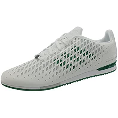 adidas Originals Men's Porsche 911Sc Cabriolet White and Green Sneakers - 13 UK
