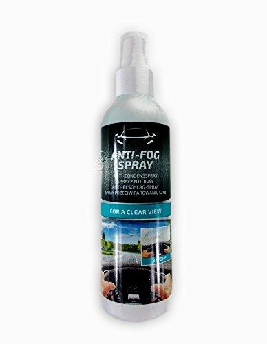 2 x Anti-Beschlag-Spray 200 ml Anti Fog Spray für Glasscheibe Spiegel