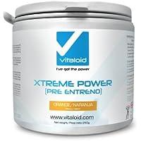 Xtreme Power Pre-Workout Vitaloid (Pre entraînement) - SUPPLÉMENT PRÉ-ENTRAÎNEMENT PUISSANT - Pre Workout Boosters de Testostérone - énergie extrême