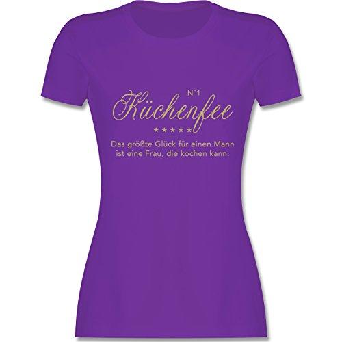 Küche - N°1 Küchenfee - tailliertes Premium T-Shirt mit Rundhalsausschnitt  für Damen