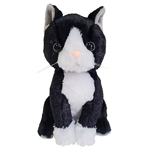 Best Ever Japan Premium Kätzchen Schwarze Katze Maske und Mantel Hachiware Plüsch/Plüschtiere Puppe (Guy Schwarz Puppe)