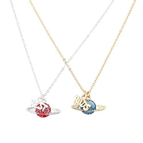lux-accessories-halsketten-set-2-teilig-best-buds-saturn-glitzer-planet