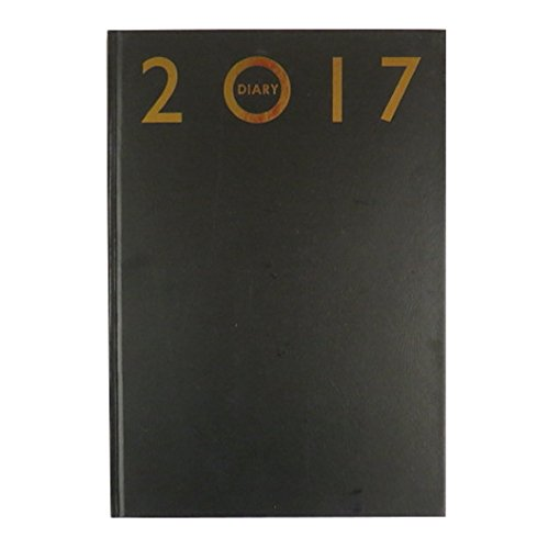 2017-a4-diary-weekly-page-to-view-desk-diary-hard-backed-diaries-black