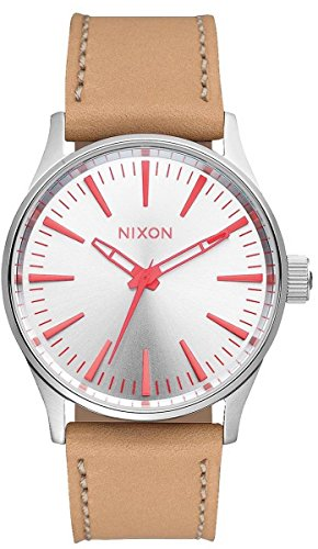 sentry-38-leather-a377-2089-00-silver-bright-coral-natura-one-size