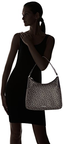 Calvin Klein Jeans  NIN4 MONO HOBO, Sacs portés épaule femme Schwarz (BLACK 001 001)