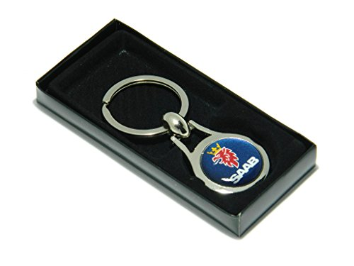 saab-metall-schlussel-ring-geschenk-schlusselanhanger