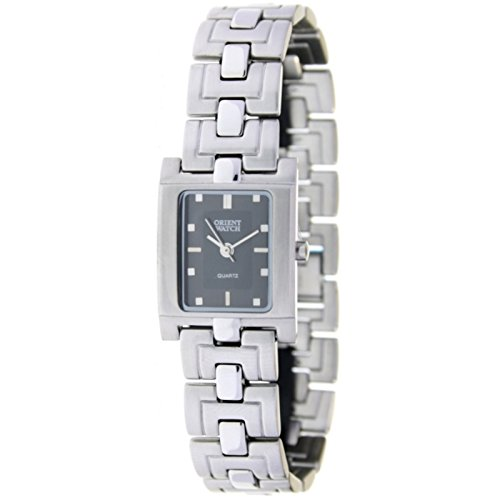 Orient Watch L-59201-d Reloj Analogico Para Mujer Caja De Acero Inoxidable Esfera Color Gris