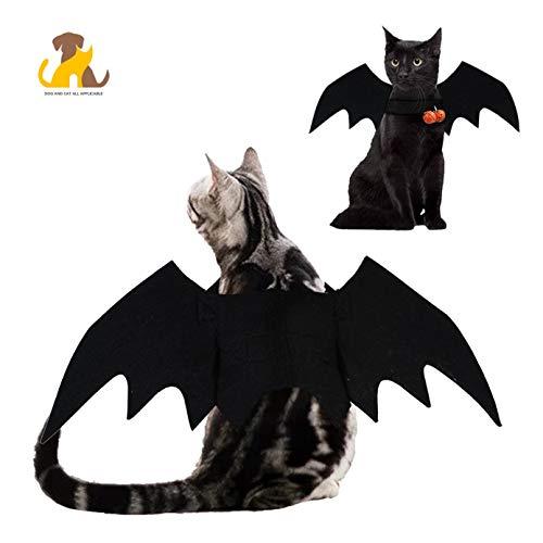 Hunde Katzen Oder Kostüm Für Fledermaus - Nwayd Haustier Hund Katze Kostüme Halloween,Fledermausflügel,Fledermaus Kostüm,Haustierfeste, Wochenendfeste, Geburtstagsfeste, Fotoshootings, Alltagskleidung oder sonstige Anlässe.1