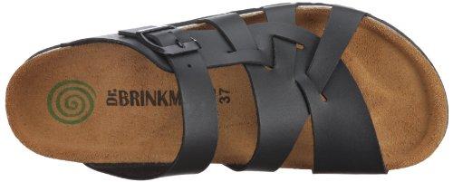 Dr. Brinkmann 700565 Unisex-Erwachsene Pantoletten Schwarz (Schwarz)