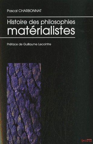Histoire des philosophies matrialistes