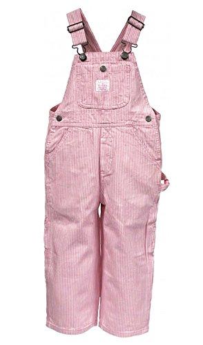 Kinder-Latzhose - Rosa Streifen kinder latzhosen jeans latzhose Baby Kleinkind