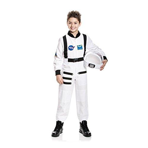 Kostümplanet® Astronauten Kostüm für Kinder Astronautenkostüm Kinderkostüm Größe (Kinder Kostüm Mond)