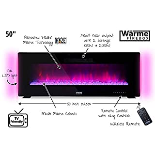 Wärme Firebox Designer Electric Fireplace - 50