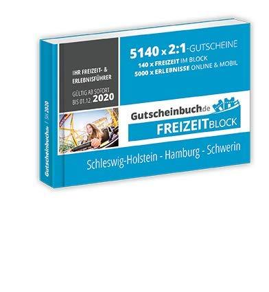 Freizeitblock Schleswig-Holstein - Hamburg - Schwerin 2019/2020 | 3. Auflage – gültig ab sofort bis 01.12.2020
