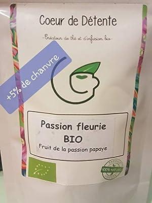 Infusion Fruit de la passion/Papaye au chanvre (5%) - BIO - 50gr - Extra