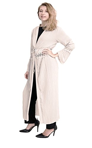 SeeitWearit - Gilet - Manches Longues - Femme Beige