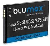 Blumax Akku für Siemens Gigaset 3,7V / 830mAh Li-ion SL400H / SL78H