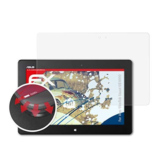 atFolix Schutzfolie passend für Asus VivoTab Smart ME400C Folie, entspiegelnde & Flexible FX Bildschirmschutzfolie (2X)