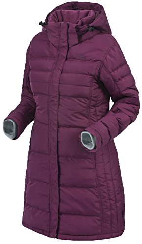 Trespass Rusty, Grape Wine, XS, Padded Jacket for Women, X-Small, Red