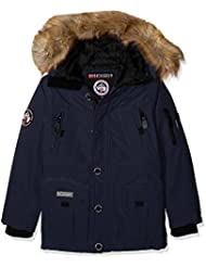 Geographical Norway Boeing – Parka para niño, Niño, Boeing, azul marino, FR : 12 ans (Taille Fabricant : 12 ans)