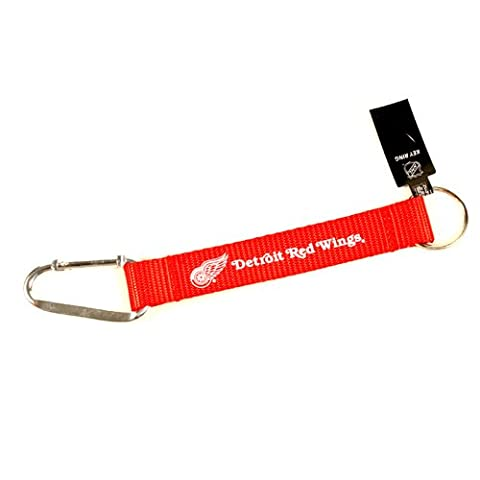 Detroit Red Wings Carabiner Keychain