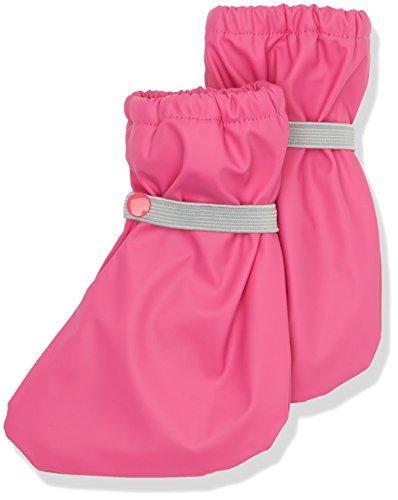 CareTec Baby-Unisex Krabbelschuhe/ Regenfüßlinge mit Fleece-Futter, Rosa (Real Pink 546), 19-22 (Herstellergröße: 0)