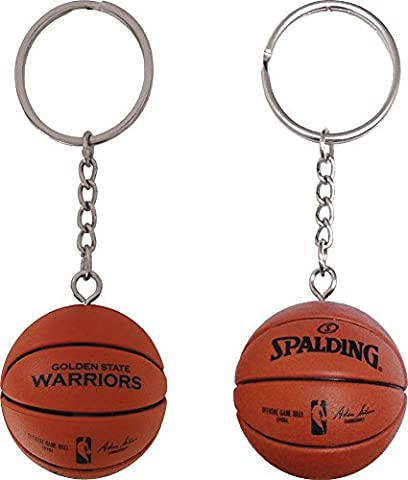 Forever Collectibles Golden State Warriors Basketball Key Tag Schluesselanhaenger NBA