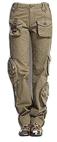 SaySure - Outdoor Cargo Pants Mens (SIZE : 38)